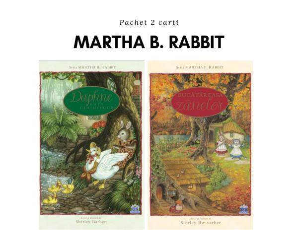 Pachet 2 cărți Martha B. Rabbit 0