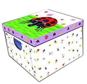 Grumpy Ladybird Collapsible Storage Box 0