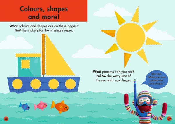 Colours and Shapes Get Ready for School 3