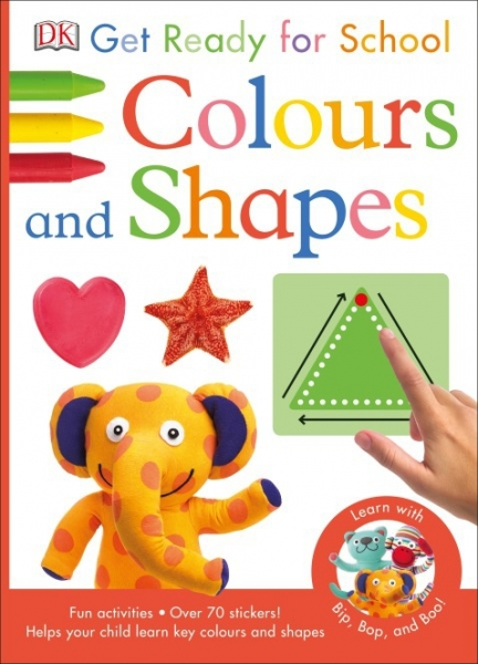 Colours and Shapes Get Ready for School 0