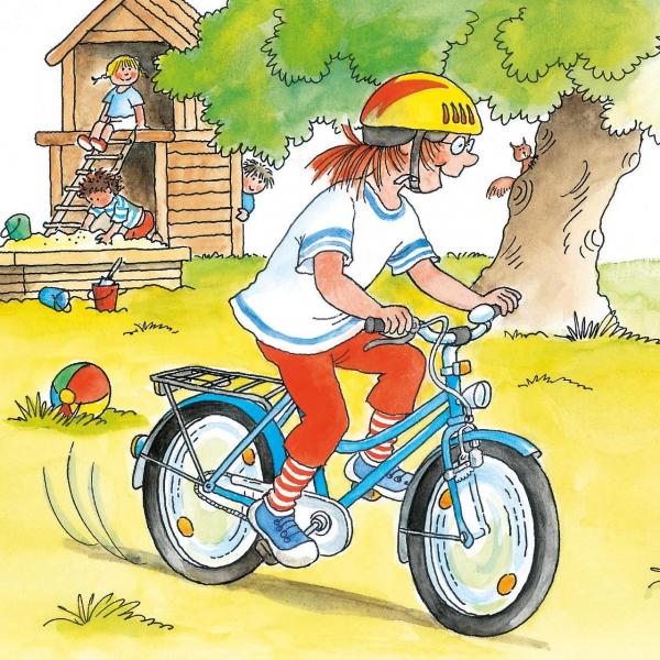 Conni învață să meargă pe bicicletă [1]