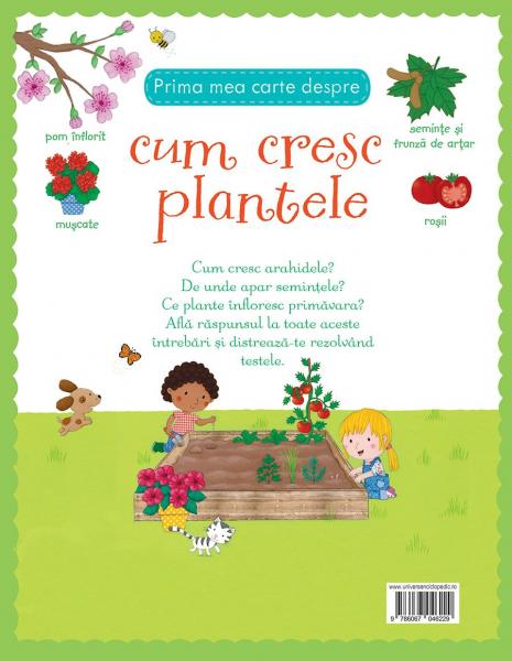 Prima mea carte despre cum cresc plantele (Usborne) [4]