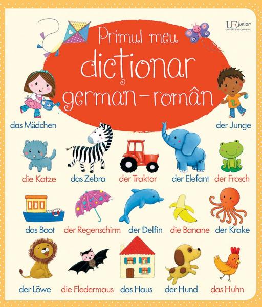 Primul meu dictionar german-roman (Usborne) 0