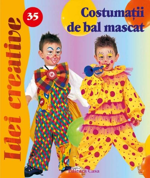 Costumaţii de bal mascat - Idei Creative Nr. 35 0