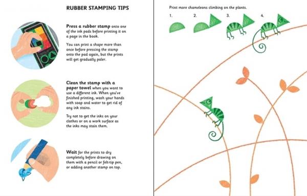 Rubber Stamp Activities Animals 1