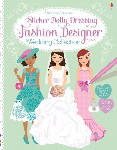 Sticker dolly dressing - Fashion designer wedding collection 0