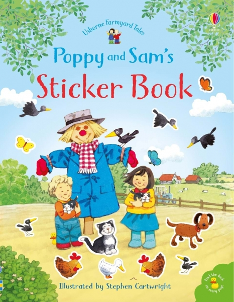 Poppy and Sam's sticker book 0