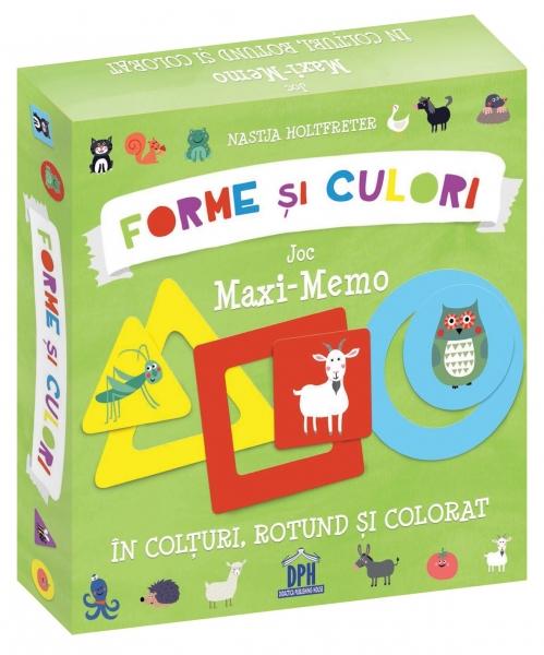 Forme și culori - Joc Maxi-Memo 0