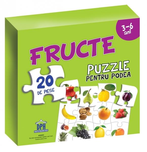 Puzzle pentru podea - Fructe 0