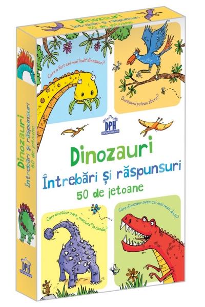 Dinozauri - Întrebări și răspunsuri - 50 de jetoane 0