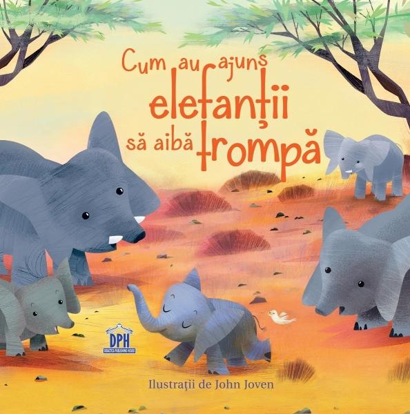 Cum au ajuns elefanții să aibă trompă 0