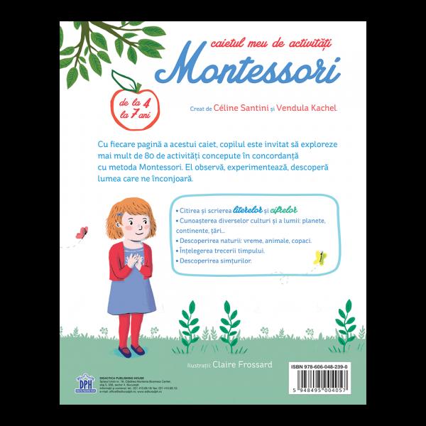 Caietul meu de activitati Montessori 2