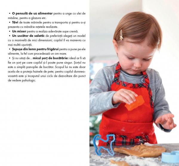 Eu gatesc, eu cresc!: Montessori - 35 de retete savuroase care va ajuta copilul sa-si dezvolte autonomia! 7