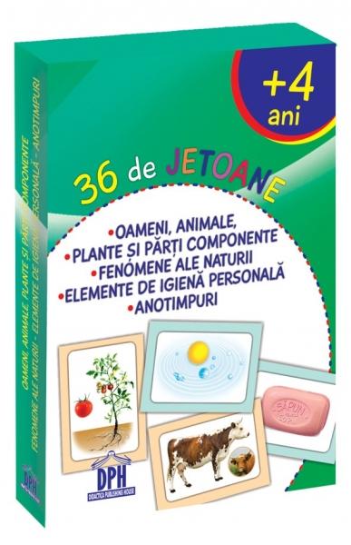 36 de jetoane - Oameni, animale, plante, fenomene, igiena, anotimpuri 0