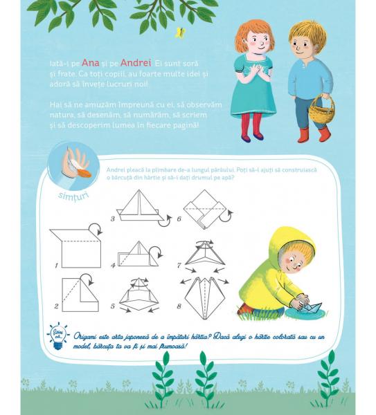 Caietul meu de activitati Montessori 1