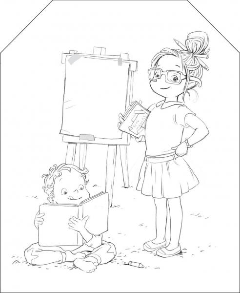 Coloram cu Ema si Eric: Carte de colorat [5]