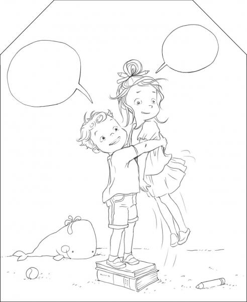 Coloram cu Ema si Eric: Carte de colorat [4]