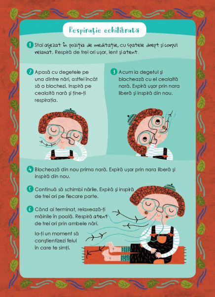Mindfulness pentru copii: 50 de exercitii de constientizare pentru intelegere, concentrare si calm [9]