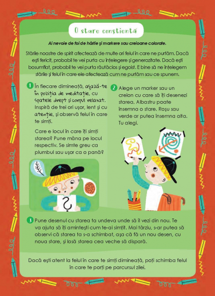 Mindfulness pentru copii: 50 de exercitii de constientizare pentru intelegere, concentrare si calm [5]