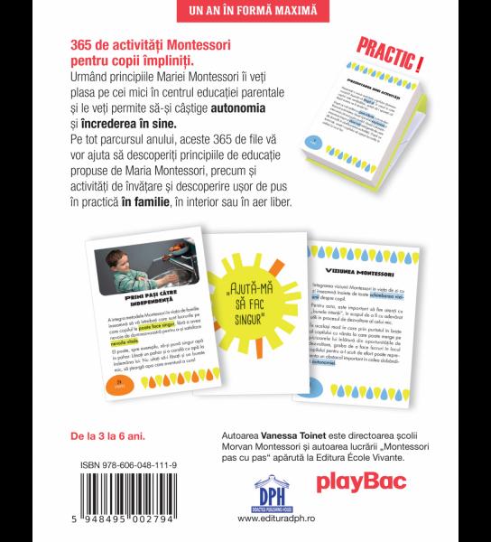 Un an in forma maxima: 365 de activitati Montessori 1