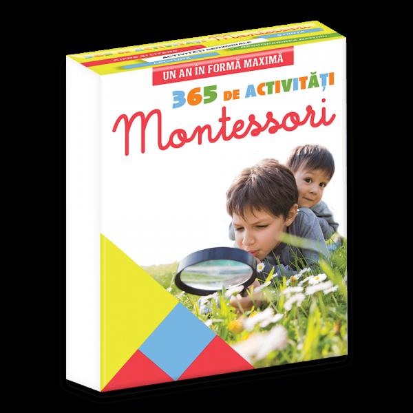 Un an in forma maxima: 365 de activitati Montessori 0