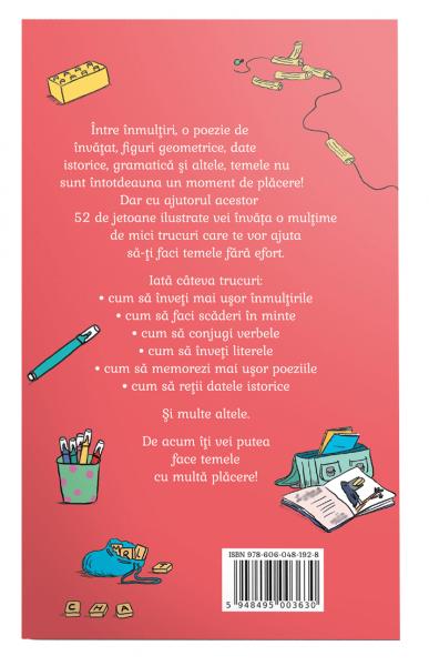 52 de trucuri care te ajuta sa-ti faci temele 1