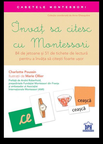 Invat sa citesc cu Montessori: 84 de Jetoane si 51 de tichete de lectura pentru a invata sa citesti foarte usor 2