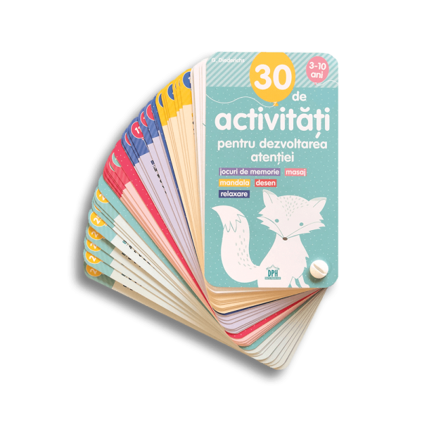 30 de activități pentru dezvoltarea atenției 0
