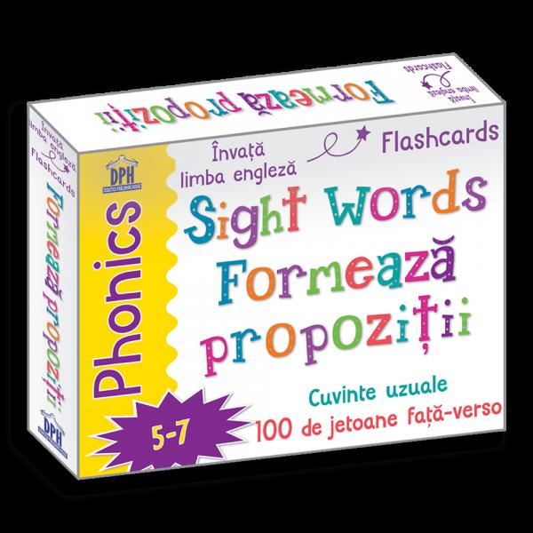 Sight Words - Formează propoziții - jetoane în limba engleză 0