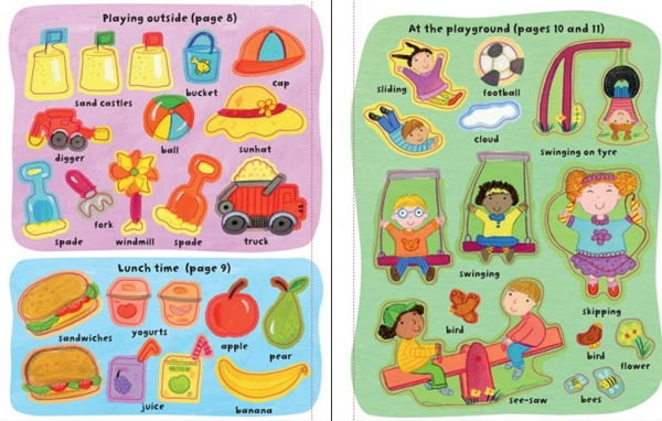 Getting dressed sticker book: My Day 1