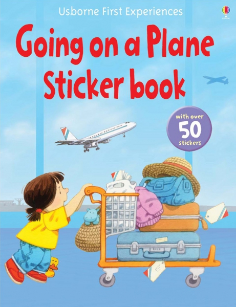 Going on a Plane Sticker Book 0