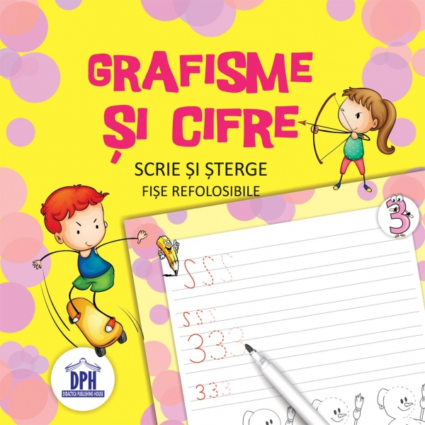 Scrie și șterge - Grafisme și cifre 0