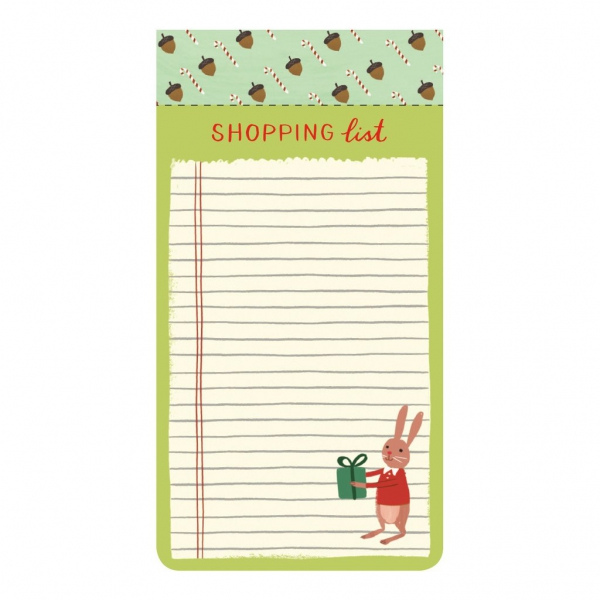 LIST PADS: HOLIDAY FOREST FRIENDS 3