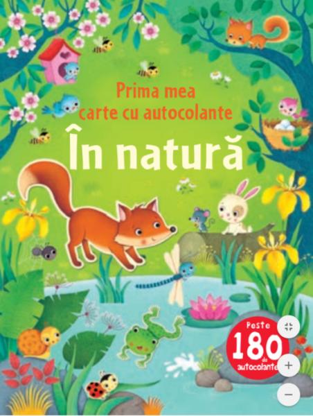 În natură. Prima mea carte cu autocolante 0