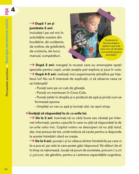 Invat cum sa invat: Montessori acasa in 35 de fise - fise scurte si usor de aplicat [5]