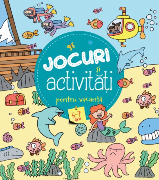 Jocuri și activitati pentru vacanță (5-7 ani) 0