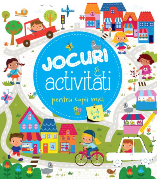 Jocuri și activitati pentru copii mici (3-4 ani) 0