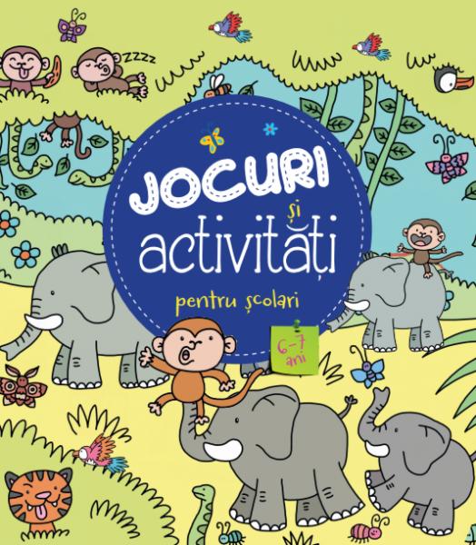 Jocuri și activitati pentru școlari (6-7 ani) 0