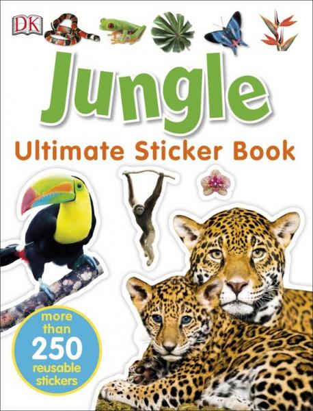 Jungle Ultimate Sticker Book 0