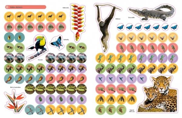 Jungle Ultimate Sticker Book 1