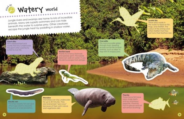 Jungle Ultimate Sticker Book 3