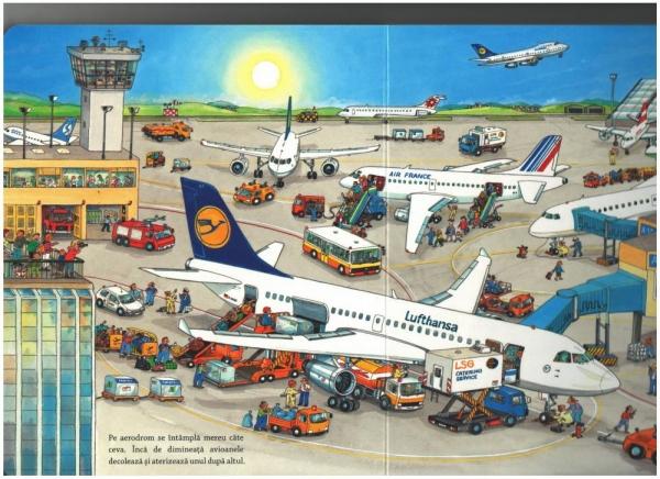 Lumea vehiculelor: La drum cu avionul 1