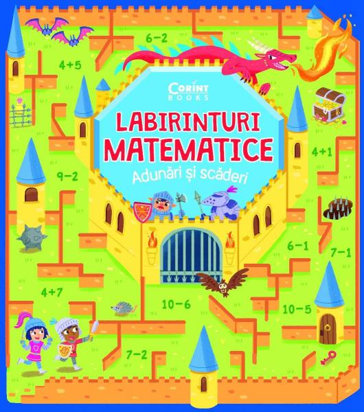 Labirinturi matematice – Adunări și scăderi 0