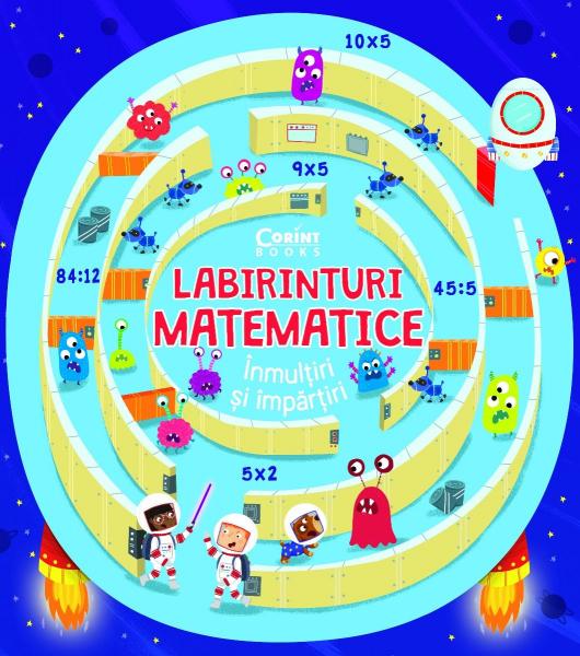 Labirinturi matematice – Înmulțiri și împărțiri 0