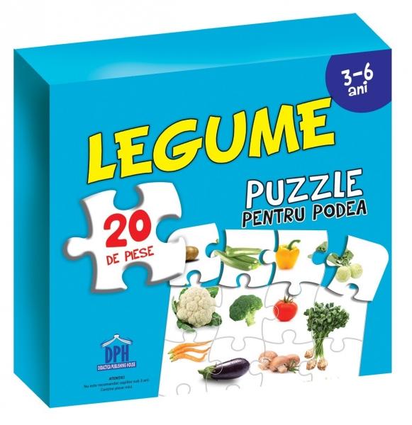 Puzzle pentru podea - Legume 0
