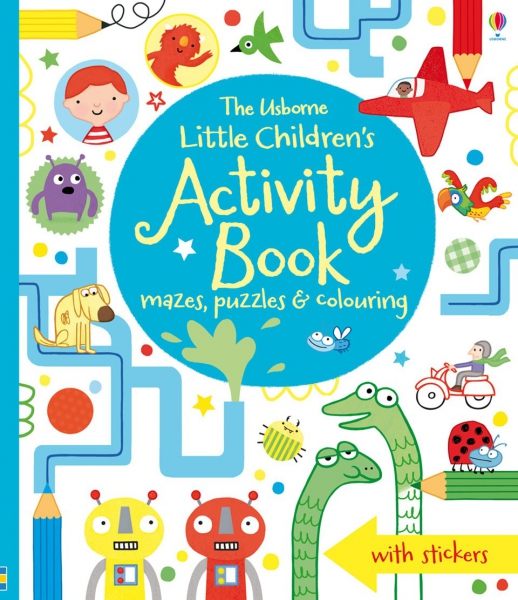 Little children's activity book - mazes, puzzles, colouring & other activities 0