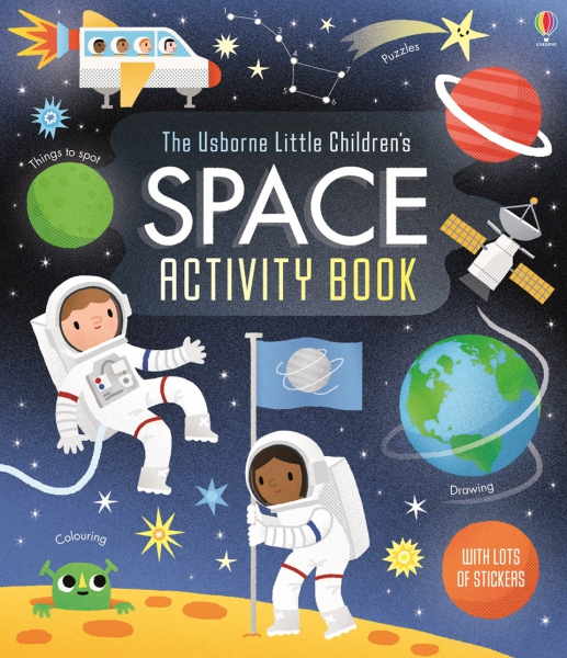 Little Children's Space Activity Book 0