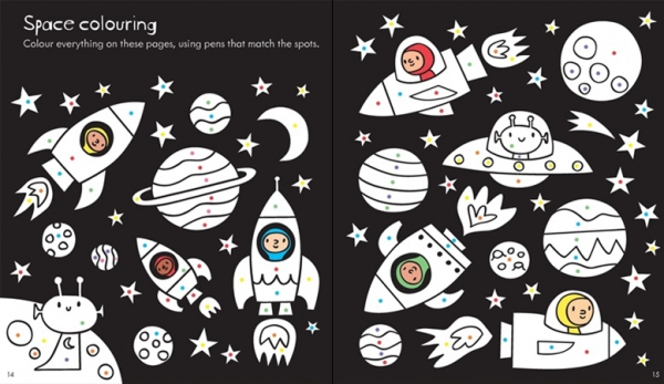 Little Children's Space Activity Book 1