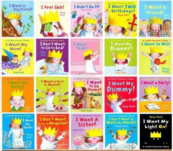 Little Princess's Big Bookshelf Collection 1