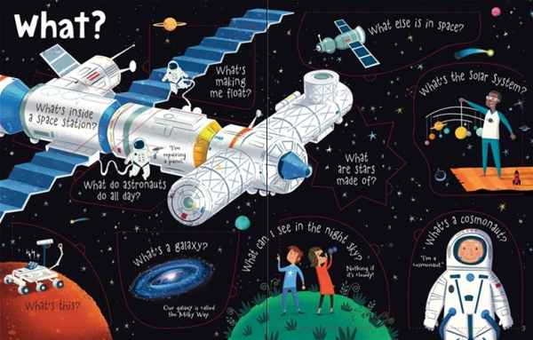 Lift-the-flap Questions and Answers about Space 1